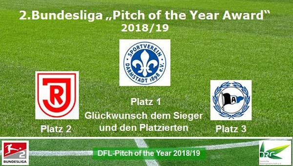 """Pitch of the Year Award  2018/19"""